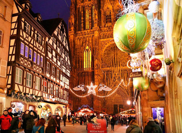 Три берега Рейна (Новый год в Страсбурге)