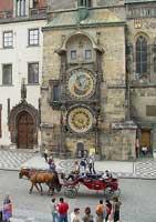 Чехия. Прага. Староместские куранты