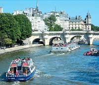 Париж. Сена