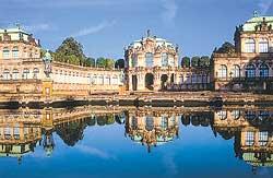 Германия. Дрезден. Дворец Цвингер