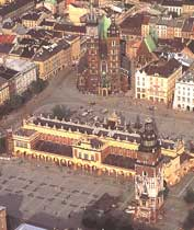 Польша. Панорама Кракова